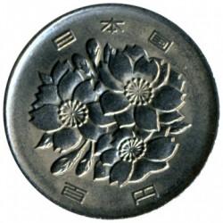 Coin > 100yen, 1989 - Japan  - obverse