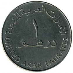 Monēta > 1dirhēms, 1995-2007 - Apvienotie Arābu Emirāti  - obverse