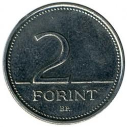 Moneta > 2forintai, 1992-2008 - Vengrija  - obverse
