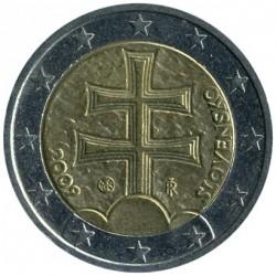 Coin > 2euro, 2009 - Slovakia  - obverse