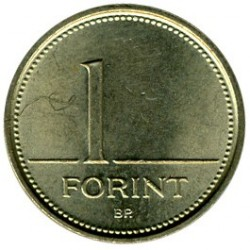 Coin > 1forint, 1992-2008 - Hungary  - obverse