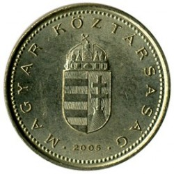 Coin > 1forint, 1992-2008 - Hungary  - reverse