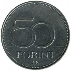 Монета > 50форинтов, 1992-2011 - Венгрия  - reverse