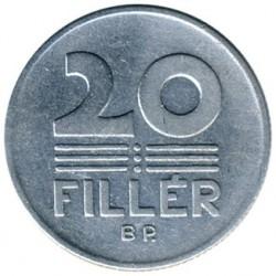 Νόμισμα > 20Φίλερ, 1967-1989 - Ουγγαρία  - reverse