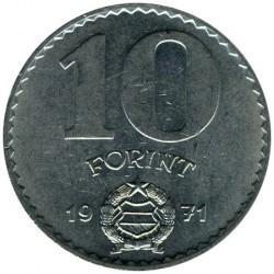 Νόμισμα > 10Φιορίνια, 1971-1982 - Ουγγαρία  - reverse
