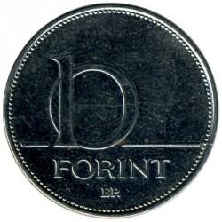 Moneta > 10fiorini, 1992-2011 - Ungheria  - reverse