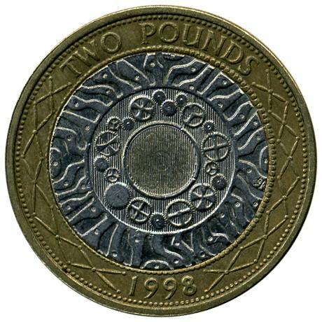 2 Pfund 1998 2015 Vereinigtes Königreich Münzen Wert Ucoinnet