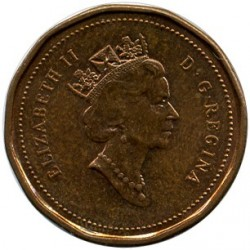 Coin > 1 cent, 1991 - Canada  - obverse