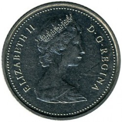 Mynt > 10 cents, 1969-1989 - Canada  - obverse