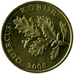 Monedă > 5lipa, 1994-2018 - Croația  - reverse