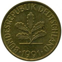 Münze > 10Pfennig, 1991 - Deutschland  - obverse
