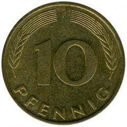 Münze > 10Pfennig, 1991 - Deutschland  - reverse