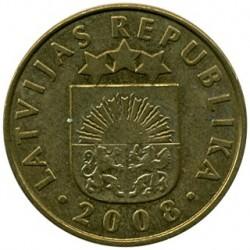 מטבע > 10סנטים, 1992-2008 - לטביה  - obverse
