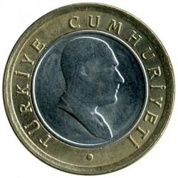 Pièce > 50nouveauxkurus, 2005-2008 - Turquie  - obverse