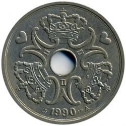 Монета > 5крони, 1990-2018 - Дания  - obverse
