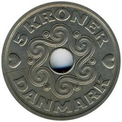 Монета > 5крони, 1990-2018 - Дания  - reverse