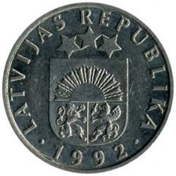 Mynt > 50santimu, 1992-2009 - Lettland  - obverse
