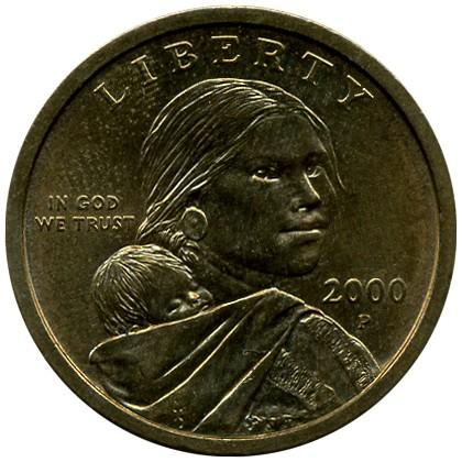 1 Dollar 2000 2008 états Unis Damérique Valeur Pièce Ucoinnet