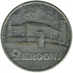 Νόμισμα > 2Κρόονι(κορώνες), 1930 - Εσθονία  (Toompea Fortress at Tallinn) - reverse