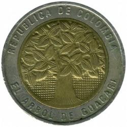 Moneda > 500pesos, 1993-2012 - Colombia  - obverse