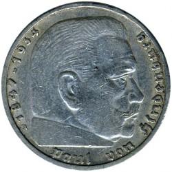 العملة > 5رايخمارك, 1936-1939 - ألمانيا الرايخ الثالث  - reverse