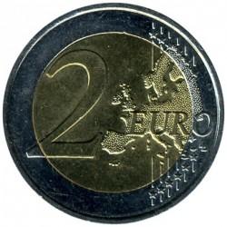 Moneta > 2euro, 2009 - Francia  (10 Anni dell'Unione Economica e Monetaria (EMU) e nascita dell'EURO) - reverse