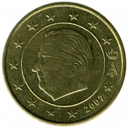 Münze > 50Eurocent, 2007 - Belgien  - reverse