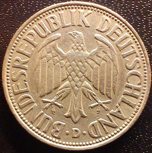 1 Mark 1964 Deutschland Münzen Wert Ucoinnet