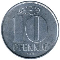 Moneda > 10peniques, 1963-1990 - Alemania - RDA  - reverse