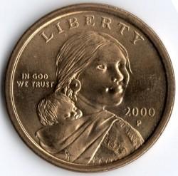 Кованица > 1долар, 2000-2008 - Сједињене Америчке Државе  - obverse