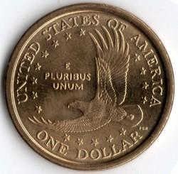 سکه > 1دلار, 2000-2008 - ایالات متحده آمریکا  - reverse