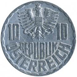 Mynt > 10groschen, 1951-2001 - Østerrike  - obverse