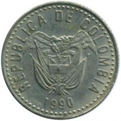 Moneda > 10pesos, 1989-1994 - Colombia  - obverse