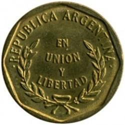 Moneta > 1sentavas, 1992-1993 - Argentina  - obverse