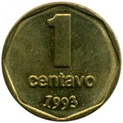 Moneta > 1sentavas, 1992-1993 - Argentina  - reverse
