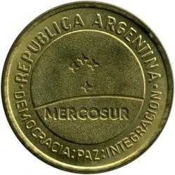 Moneda > 50centavos, 1998 - Argentina  (Mercosur - Mercado Común del Sur) - obverse
