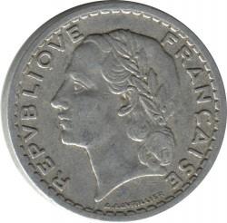 Coin > 5francs, 1945-1952 - France  - obverse