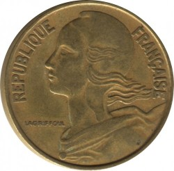 Moneda > 20céntimos, 1962-2001 - Francia  - obverse