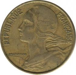 سکه > 20سنتیماس, 1971 - فرانسه  - obverse