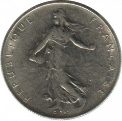 Coin > 1franc, 1961 - France  - obverse