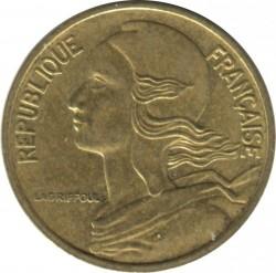 Moneda > 5centimes, 1982 - França  - obverse