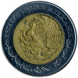Coin > 5pesos, 2009 - Mexico  (Centenary of Revolution - Carmen Serdán) - obverse