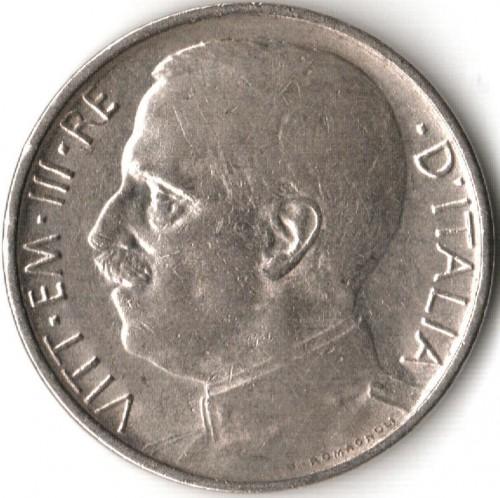 50 centesimi 1919 1925 italia km 61 catalogo for Moneta 50 centesimi