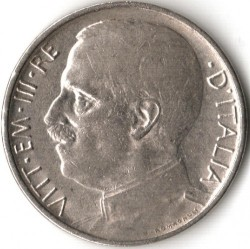 Moneta > 50centesimi, 1919-1925 - Włochy  - obverse