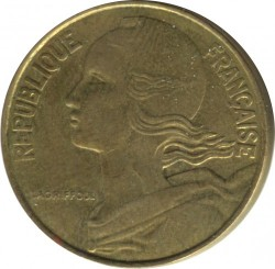 Coin > 20 centimes, 1978 - France  - obverse
