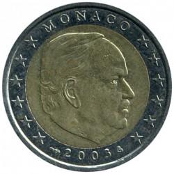 Moneda > 2euros, 2001-2004 - Mónaco  - obverse