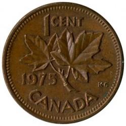 Mynt > 1cent, 1965-1979 - Canada  - reverse