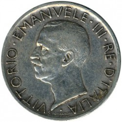 Coin > 5 lire, 1927 - Italy  - obverse