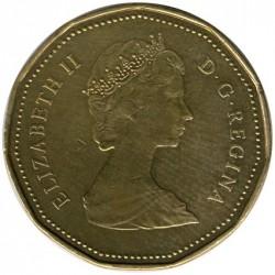 Mynt > 1dollar, 1987-1989 - Canada  - obverse