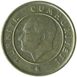 Moneta > 10kurušų, 2009-2019 - Turkija  - obverse
